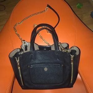 Handbags - Black Mini Tote Bag